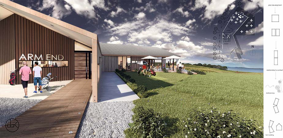 Arm End Golf Course Club House Design Bureau Tasmania